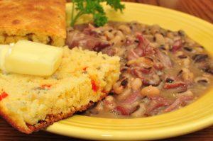 Black-eye Peas & Cornbread